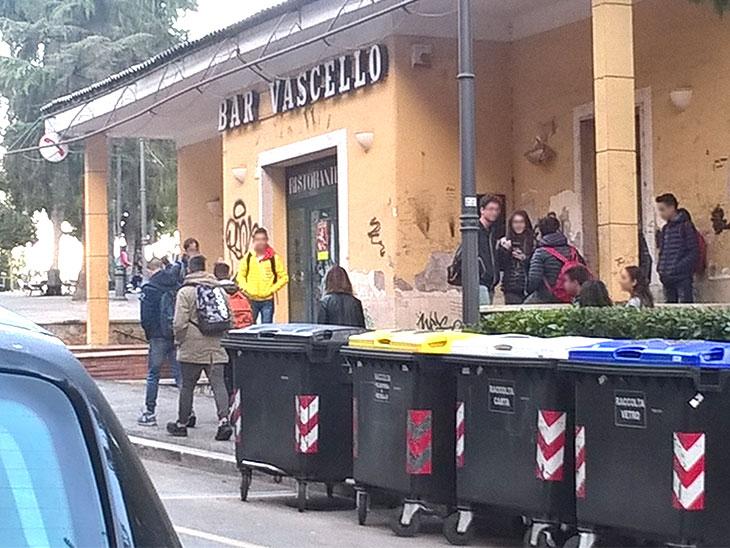 イタリアの高校生