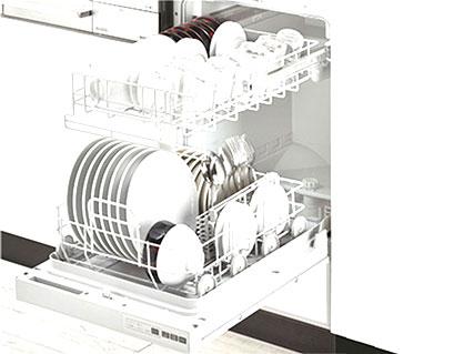 フロントオープン食洗器