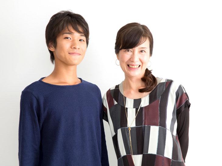 お母さんと高校男子の息子