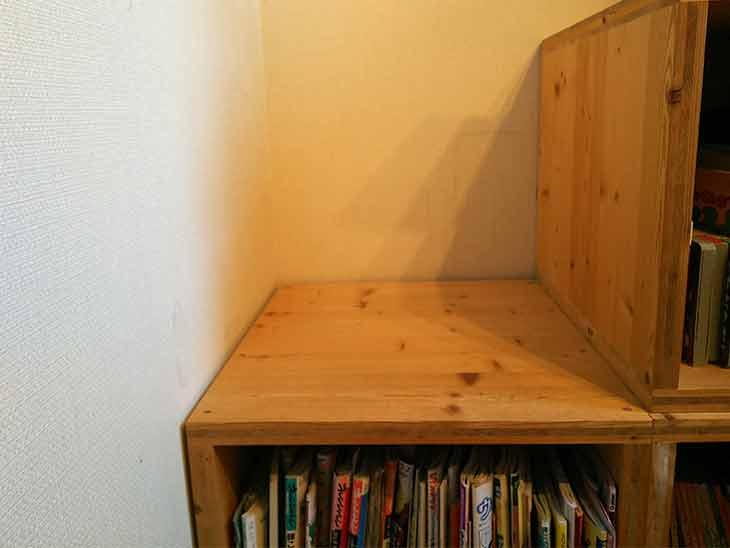 壁と家具の隙間