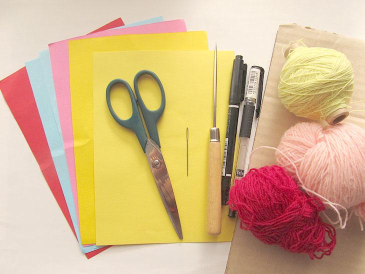 縫いさしの材料
