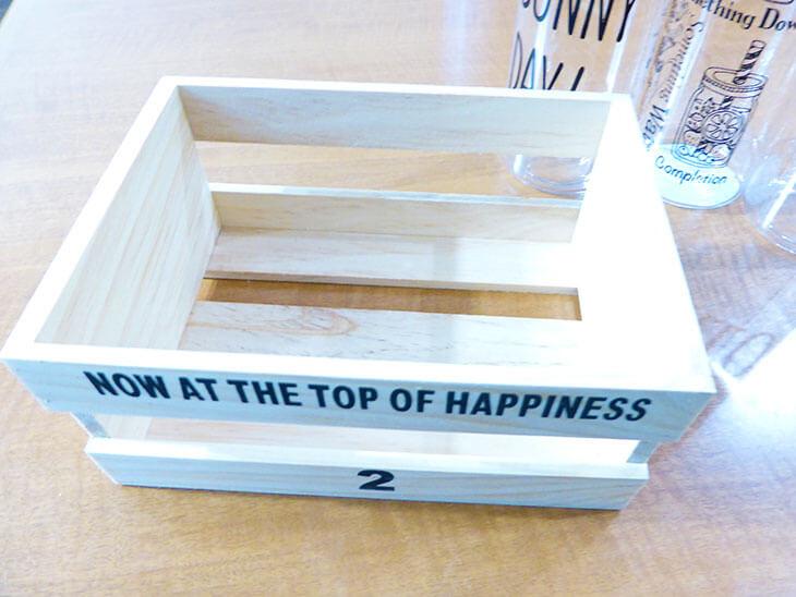 木製のボックス