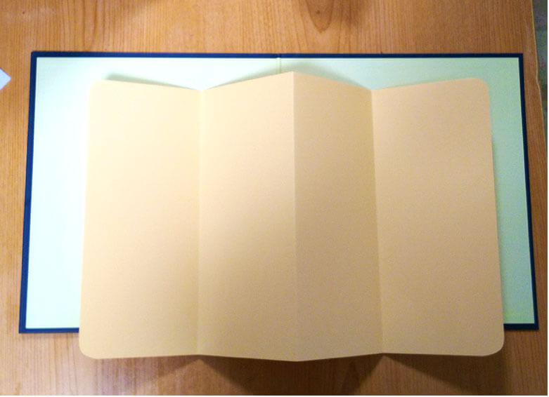 中紙の作り方