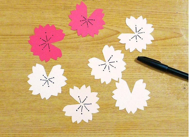 ポップアップの花