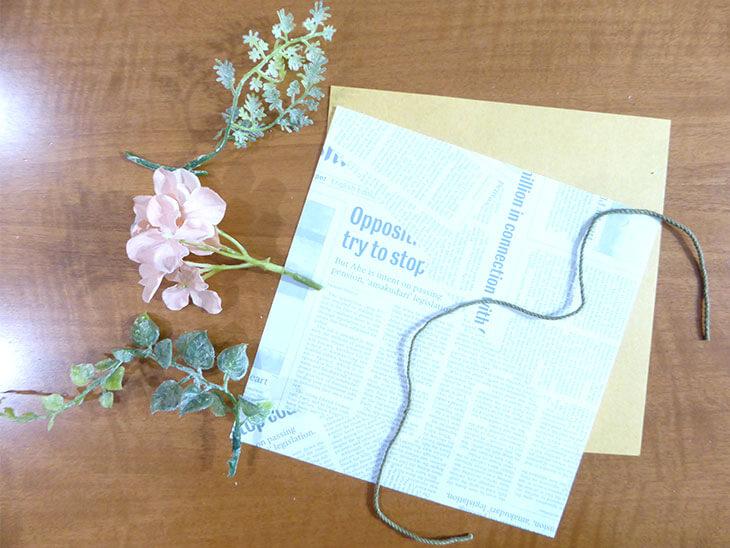 造花・折り紙・ひも
