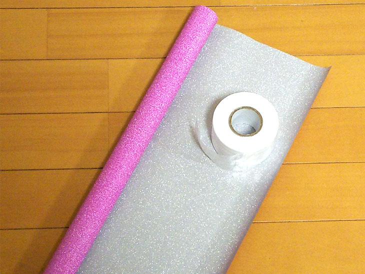 メッキテープ風チアポンポンの材料