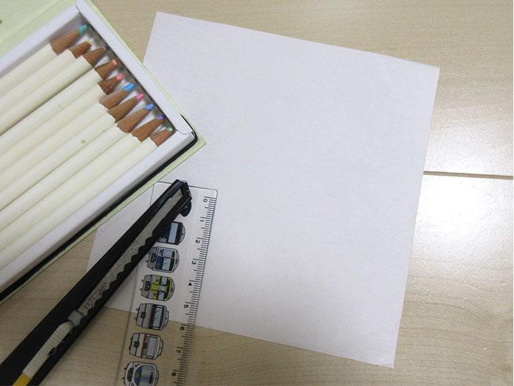 アルファベットパズルの材料