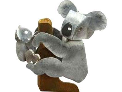 ダンボールのコアラ