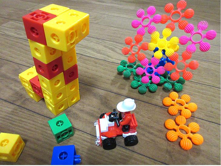 色々な種類のブロック