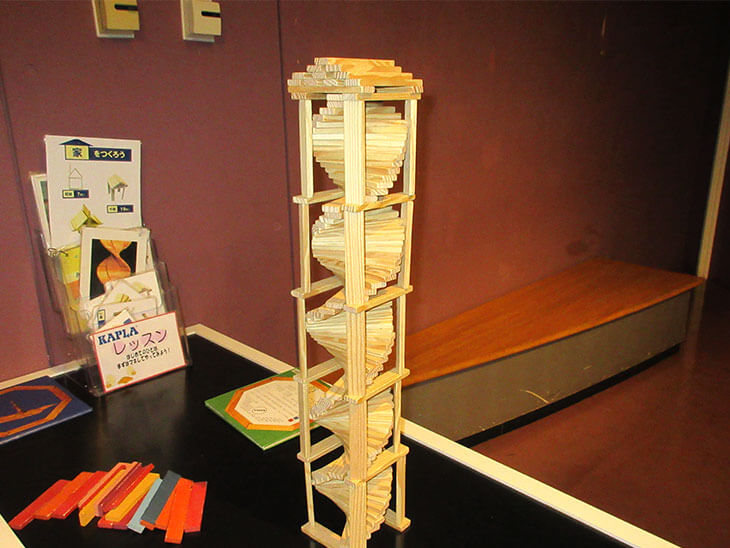 KAPLA®ブロックで作ったタワー
