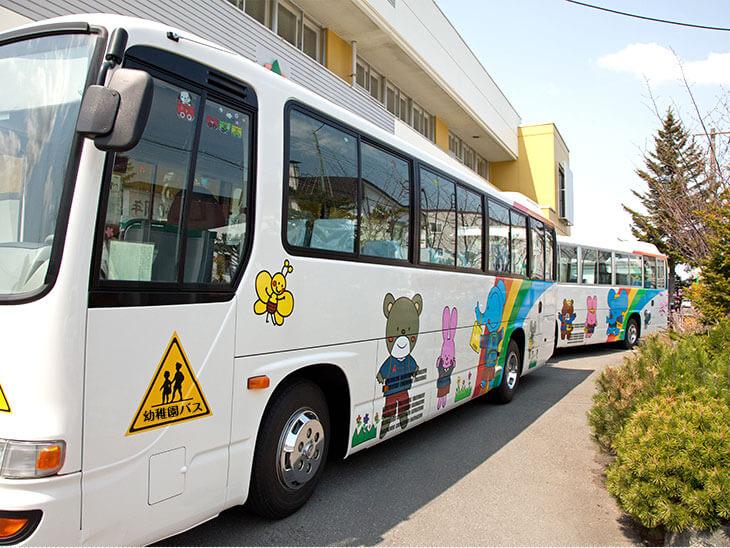 幼稚園のバス