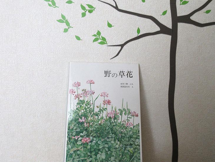 植物図鑑「野の草花」