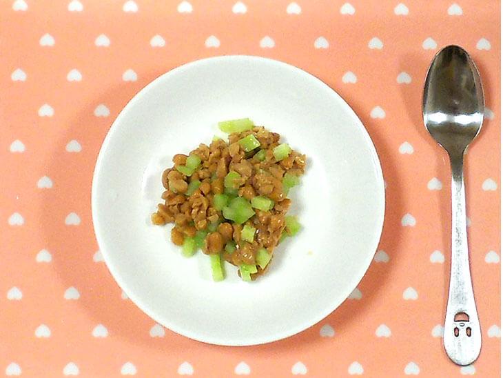 きゅうり納豆の写真