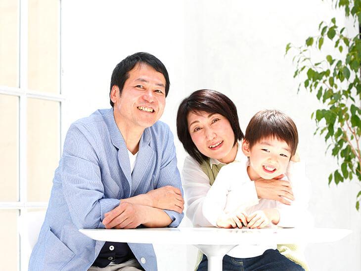 高齢出産の家族