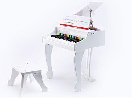 デラックスグランドピアノ(白色)