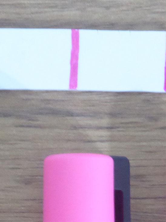 ポスカで着色したプラバンの色合い