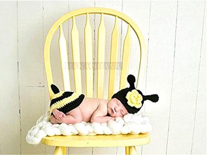 新生児コスチュームハチ