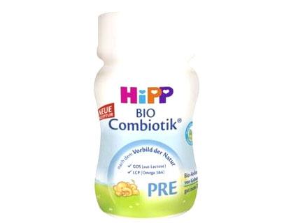 HIPP輸入乳児用液体ミルク4本セット