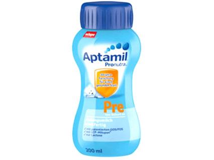 アプタミル輸入乳児用液体ミルク4本セット