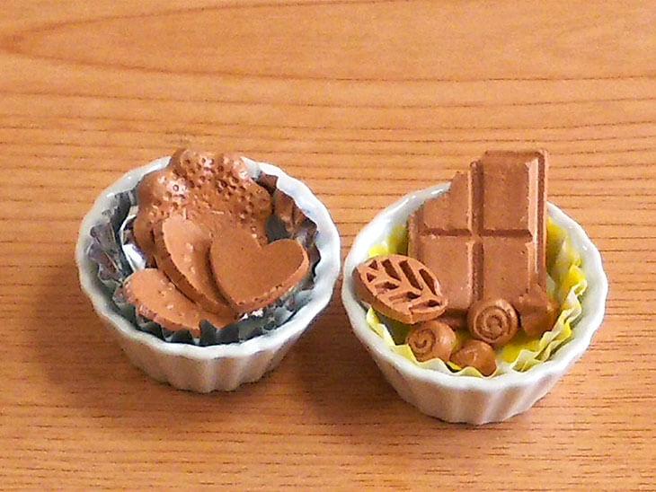 フェイクスイーツのチョコレート