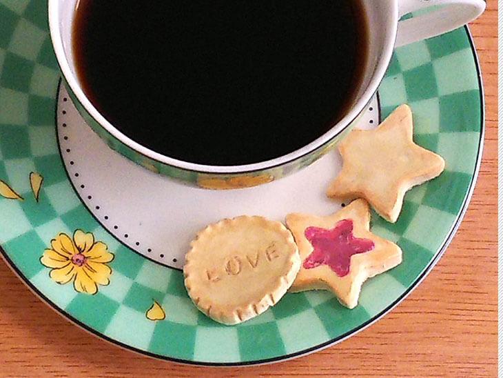 コーヒーとフェイクスイーツのクッキー