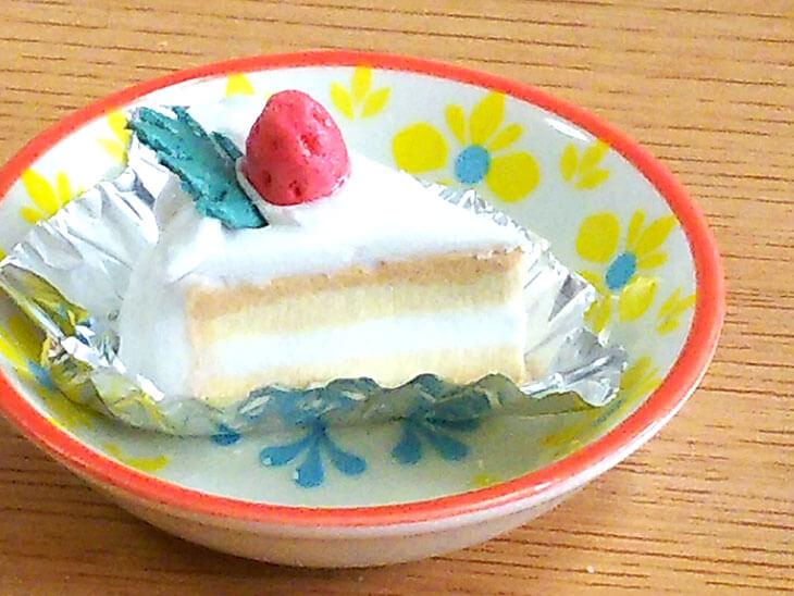 フェイクスイーツのイチゴのショートケーキ