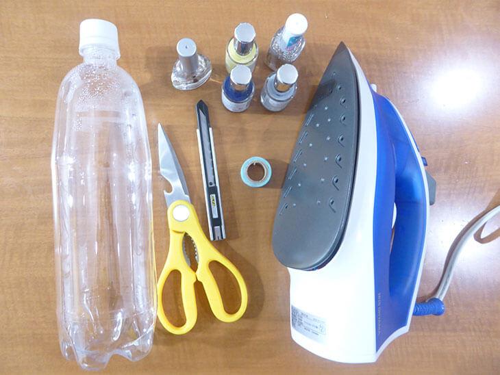 ペットボトル製バングルの材料