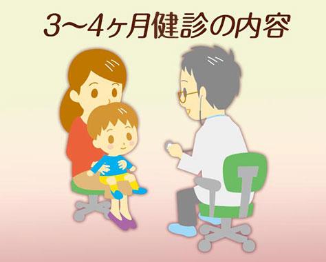 3~4ヶ月健診はいつどこで?持ち物/服装/内容や流れ
