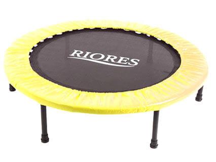 RIORES (リオレス) トランポリン 102cm 耐荷重110kg 折り畳み式 静音型