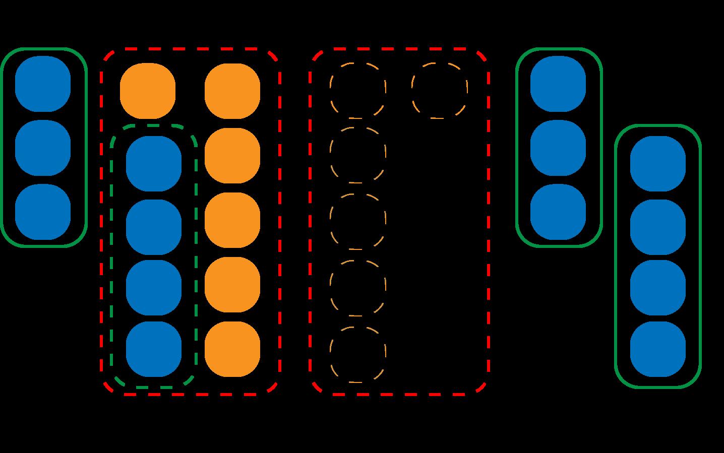 さくらんぼ計算の引き算を算数セットで教える方法の図解