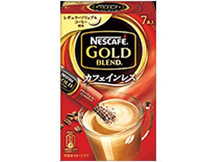 ネスカフェ ゴールドブレンド カフェインレススティックコーヒー 7本入り