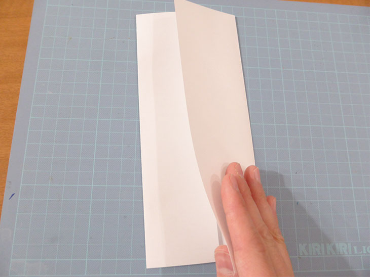 オリジナル祝儀袋の作り方の工程1@@