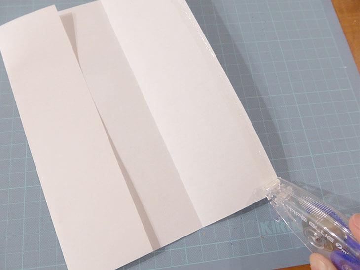 オリジナル祝儀袋の作り方の工程2@@