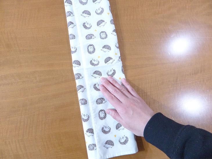 完成した手作りの祝儀袋の内袋@@