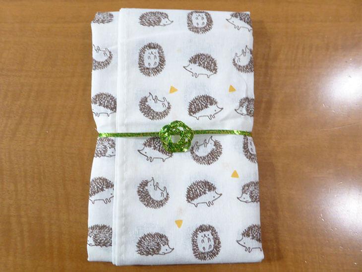 祝儀袋の内袋の作り方の工程1@@