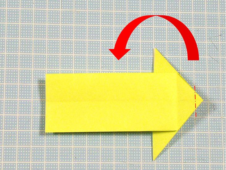 折り紙の立体猫の折り方の手順3