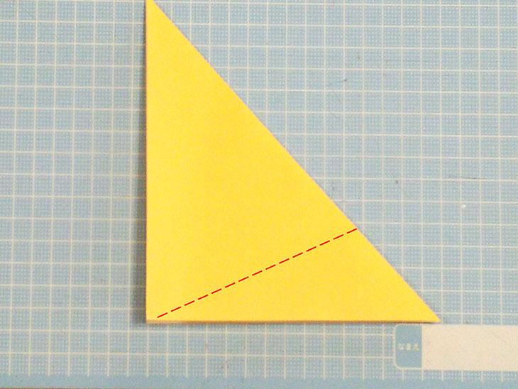 折り紙の犬の超かんたんな折り方工程4
