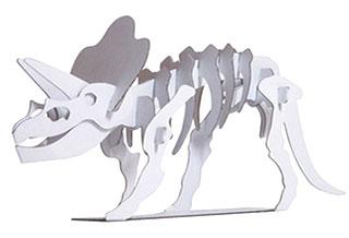 ダンボールのトリケラトプス