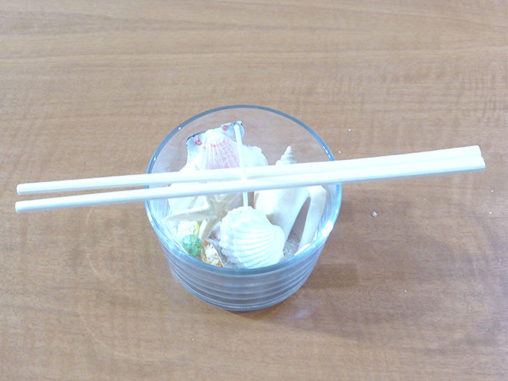 簡単ジェルキャンドルの作り方の工程4