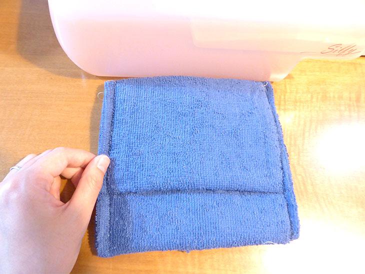 赤ちゃん用保冷リュックの作り方の工程4