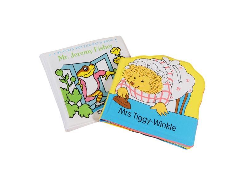 ジェレミーフィッシャー&ティギーおばさんおふろ絵本2巻セット
