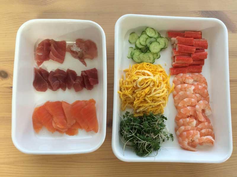 寿司の具材