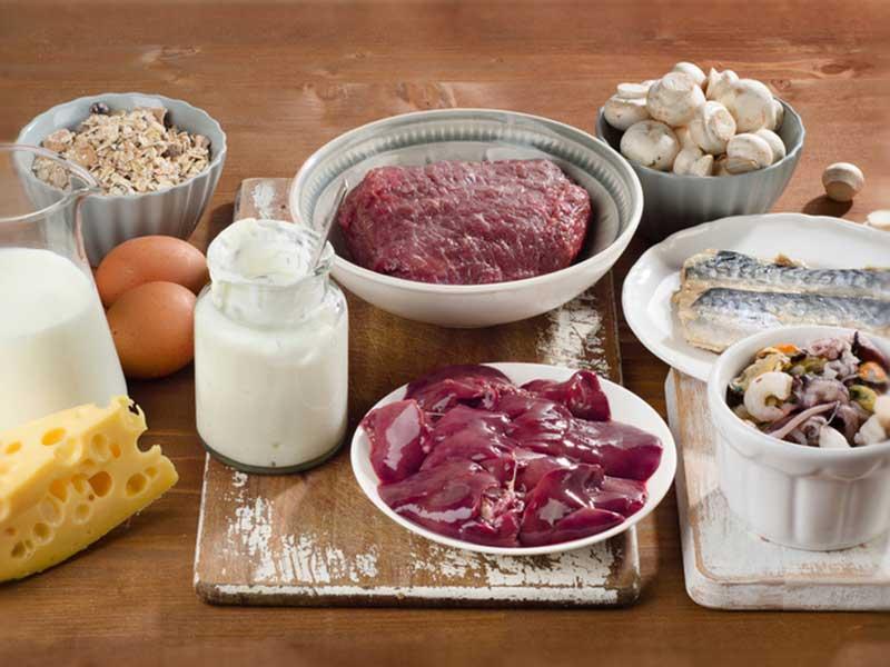 ビタミンb12を多く含む食材