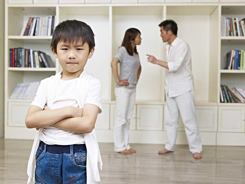 子供と親の喧嘩