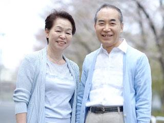 仲のいい老夫婦