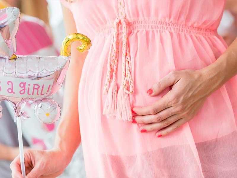 女の子を妊娠してる妊婦さん