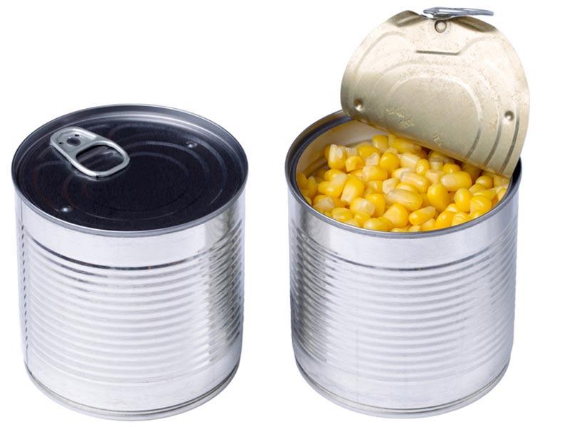 コーンの缶詰