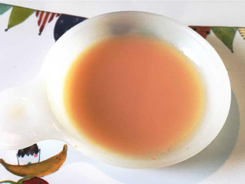 豆乳と人参のスープ