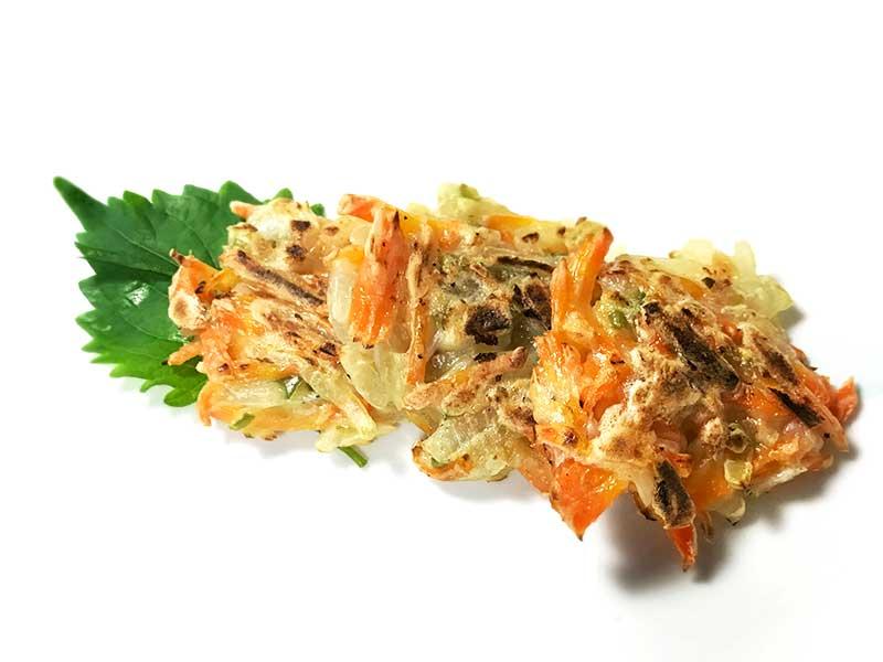 野菜と豆腐のおやき