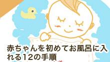赤ちゃん(新生児)をお風呂に入れる12の手順!新米ママとパパへ